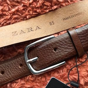Zara brown belt